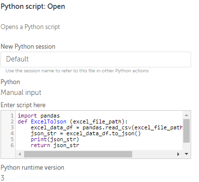 Bot-Python command to execute the bot