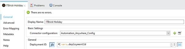 Configure Get Bot Activity operation