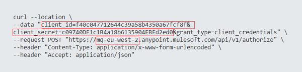 Retrieve environment and organisaton ids using HTTP request