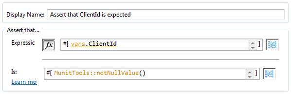 Verify that  variables are not null