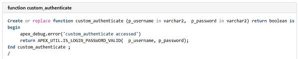 PaaS 4 SaaS authentication function