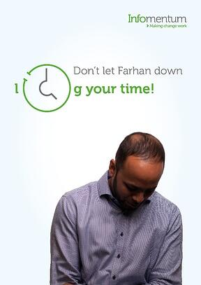 Farhan time logging