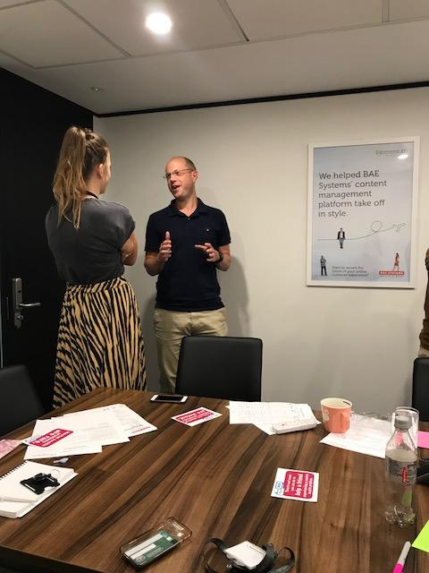 Mental Health workshop at Infomentum
