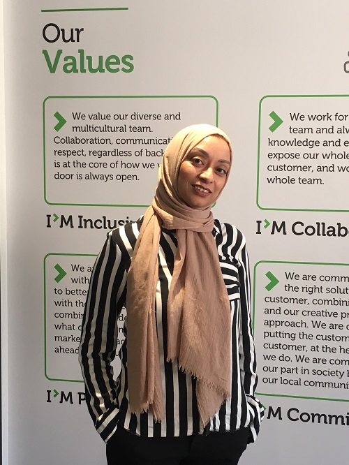 Nasima: onboarding experience at Infomentum