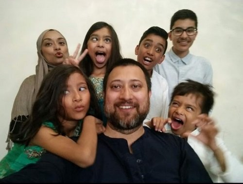 Nasima's big happy family