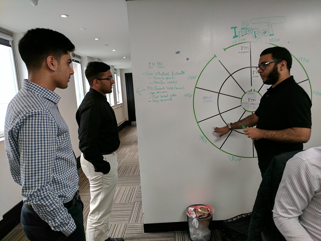A day in the life of…a development intern
